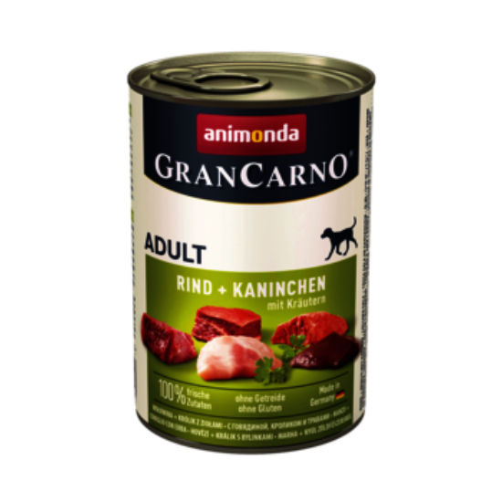 GranCarno marha+nyúl+gyógynövények 400g